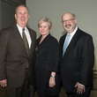 Jerry Gehm, from left, Marilyn Archer and Martin Cominsky at the ADL Jurisprudence Award kick-off April 2015