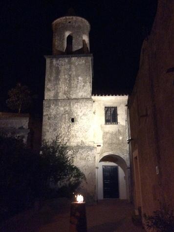 8 Jane Howze Italy trip Amalfi Coast hotel September 2014 Monastero Santa Rosa by night