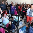 long lines wait to see Kardashians at Sears Willowbrook Mall May 2013