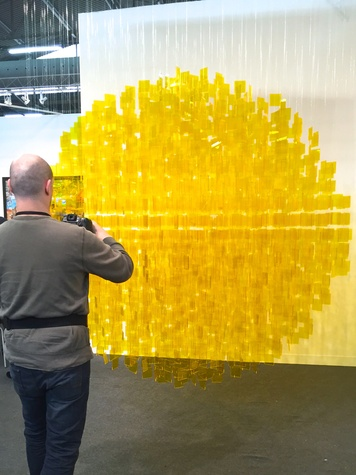 Lea Weingarten Armory Arts Week Fair Story March 2015 Image 11 Julio Le Parc Nara Roesler Gallery