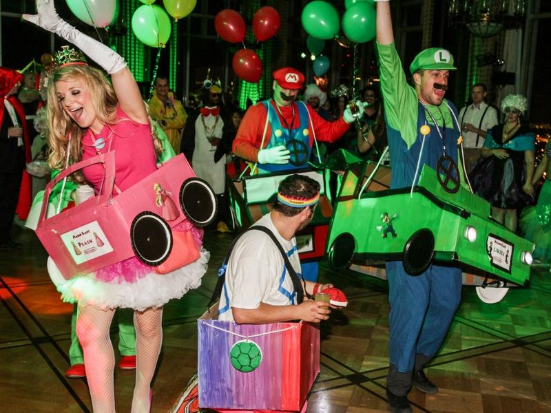 33 super mario cart at the patroleum club halloween party november 2014 - Wild Halloween Party