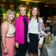 Cyndy Garza-Roberts, from left, Leisa Holland-Nelson and Soraya McClelland at the Memorial Hermann Razzle Dazzle Pink Luncheon October 2013