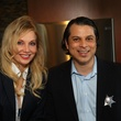 Jaclyn Hays and Freddy Goerges at the Modern Professionals murder mystery event December 2013