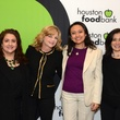 6 Sonia Soto, from left, Kim Padgett, Jessica Michan and Roxana Heredia at the mayoral inauguration reception at the Houston Food Bank January 2014