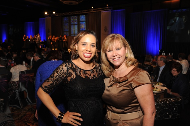 Houston, Tapestry Gala, May 2015, Lacey Dalcour Salas, Cyndy Garza Roberts