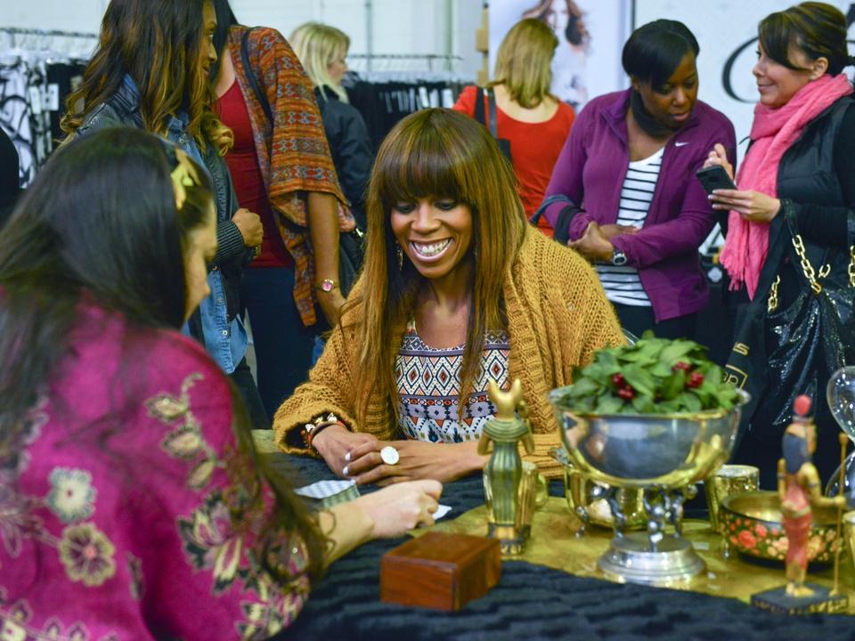 28 Creshema Murray at the CultureMap Pop-Up Shop December 2014
