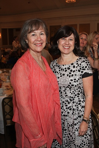 Center for Contemporary Craft luncheon May 2013 Kathryn Rabinow and Sarah Pesikoff
