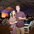 255 Ali Wolf and Travis Gumphrey at the Houston Zoo Ambassadors Gala February 2015