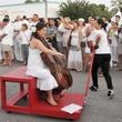 022_White Linen Night, August 2012, traveling musician