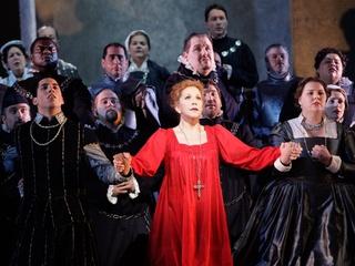 News_Houston Grand Opera_May 2012_Mary Stuart_Joyce DiDonato_HGO Chorus
