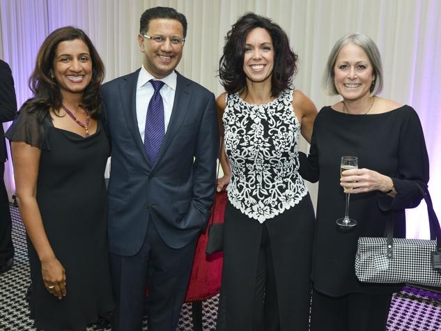10 Greater Houston Partnership Gala August 2013 Masir Khan, Badar Khan, Melinda Reeves, Carol Graebuer