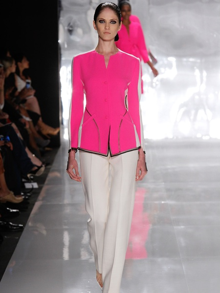 Clifford, Fashion Week spring 2013, Chado Ralph Rucci, September 2012, Look 27