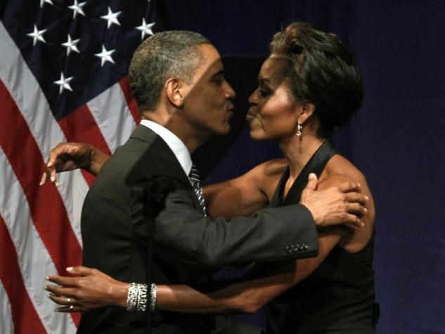Barack Obama and Michelle Obama diamond bracelets diamond cuffs