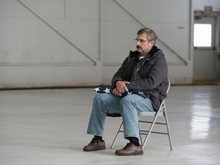 Steve Carell in Last Flag Flying