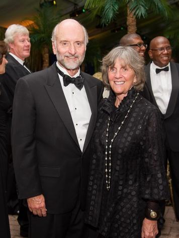 Bill and Sara Morgan at the Houston Grand Opera Opening Night celebration October 2013