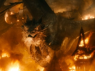 Smaug, The Hobbit: The Battle of the Five Armies