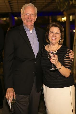23 Joe Turner and Anne Olson at the Buffalo Bayou Ball November 2014