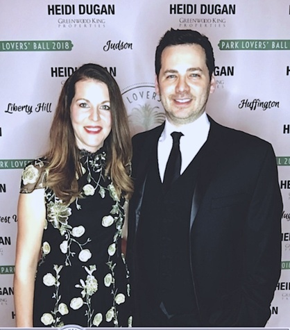 Houston, West University Park Lovers' Ball, February 2018, Caroline and Justin Simons