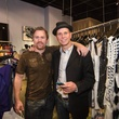 Austin Fashion Week kick off party at estilo 2013 C.J. Linton and Walt Johnson