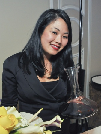008_Periwinkle Foundation sommelier tasting, September 2012, Cathy Nguyen of Mark's American Cuisine