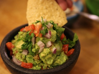 Pappacito's finished guacamole