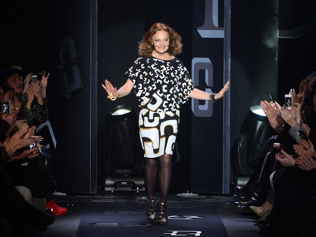 Fashion Week fall 2013, Designer Diane Von Furstenberg