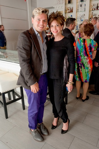 137 David Peck and Vicki Rizzo at the Stages Repertory Theatre Soiree Marie October 2014