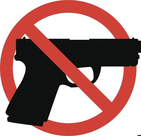 No guns logo