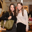 Alexandra Carreno, left, and Brittany Boone at the Elaine Turner BLVD Place Grand Opening Party December 2014