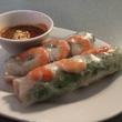 Cafe Helene Vietnamese spring roll