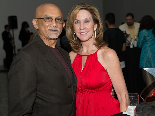 Houston, Cinema Arts Fest opening night, November 2015, Iqbal Nagji, Barbara Nagji