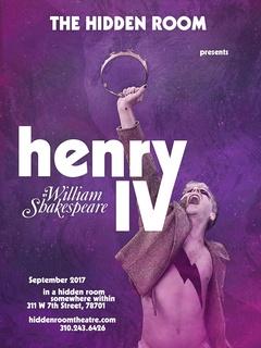The Hidden Room presents <i>Henry IV</i>