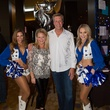 Valeria & Jeff Jones with the Dallas Cowboys Cheerleaders , EUTS 2017
