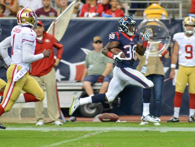 Andre Hal Texans 49ers return