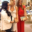 1 Charlotte Olympia shoe designer April 2013Designer Charlotte Olympia Dellal, center, flanked by event guests flaunting Charlotte Olympia handbags