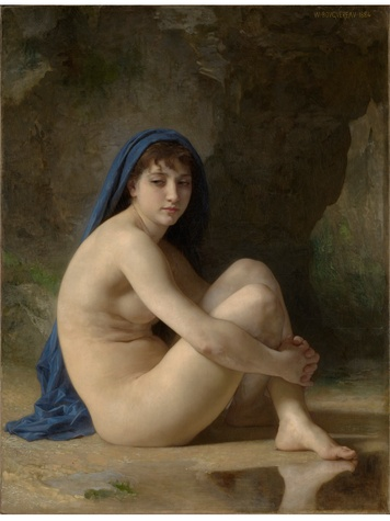 MFAH The Age of Impressionism December 2013 Bouguereau - Seated Nude