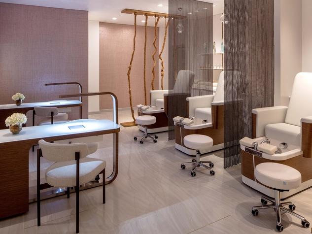 Mani Pedi room, Spa at Hotel Crescent Court