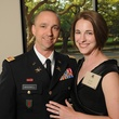 Capt. Kevin Braswell and Kate Bone at the Johnny Mac Soldiers Fund Inaugural Houston Gala April 2015