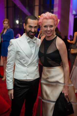 Fady Armanious and Vivian Wise at the Houston Symphony Centennial Ball after party May 2014