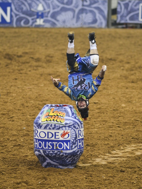 2 RodeoHouston rodeo extras bullfighters March 2014