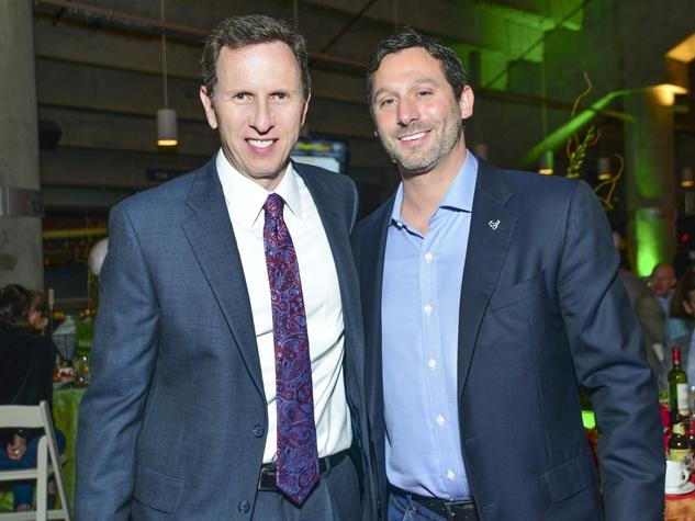 21 Marc Vandermeer, left, and Brad Marks at the DePelchin Friday Night Lights Gala November 2013