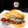 Alamo Drafthouse hamburger