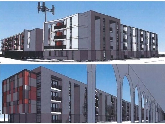 Aspen Heights University of Houston UH private dorm renderings May 2014