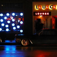 Austin Photo: Places_Live Music_Lucky Lounge_Exterior