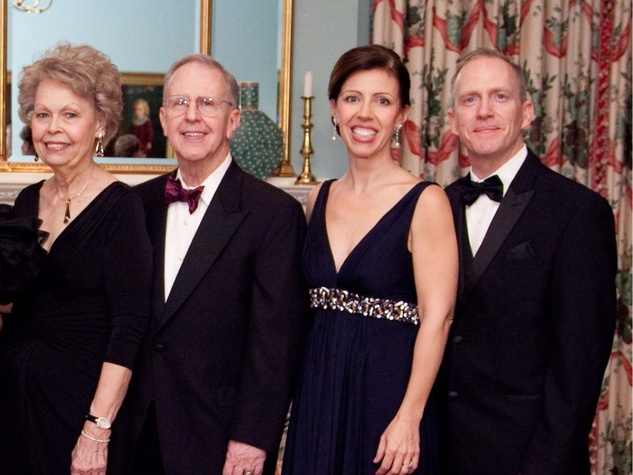 16 Betty and Ron Hearne, from left, and Vicki and Cengiz Satir at the Junior League of Houston Charity Ball February 2014