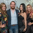 21 Holly Legare, from left, Daniel Colvin, Magen Pastor and Chira Casiraghi at the JW Marriott Houston Grand Opening November 2014