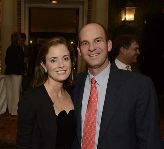 30 Leslie and Michael Fertitta at Texas Children's Ambassadors wraps up #GivingTuesday week December 2014