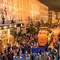 The parade at the Tremont Ball March 2014
