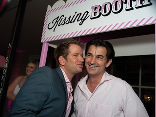 023_Party in Pink, Hotel ZaZa, July 2012, Jeff Shell, Chef Philippe Schmit