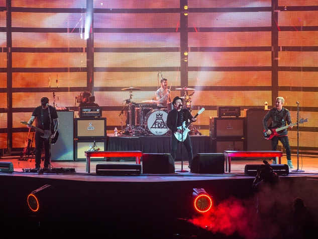 Fall Out Boy at Houston Rodeo March 2015